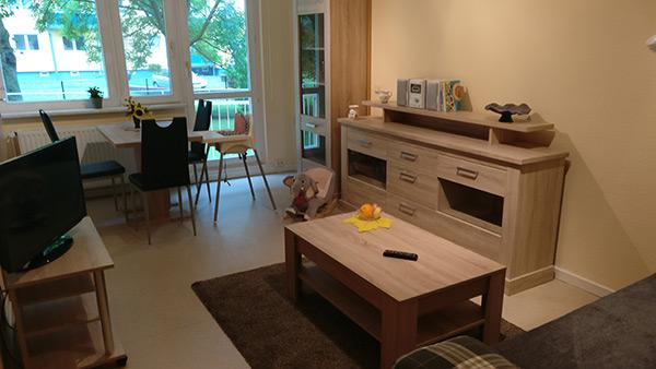 Wohnzimmer Mutter/Vater-Kind-Wohnen